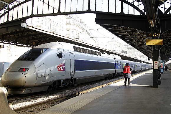 TGV train.