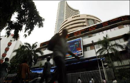 Sensex crosses 19K as Goldman upgrades India