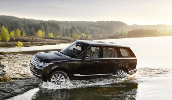 The new Range Rover, Vogue SE