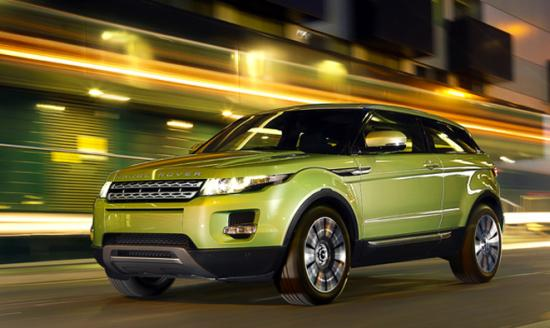 Range Rover Evoque, the car JLR is considering to assemble in India