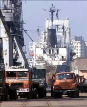 Haldia port