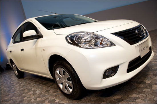 Nissan Motor launched the all-new Nissan Latio, which goes on sale on October 5 in
