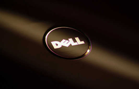 Dell fell by nine per cent in value.