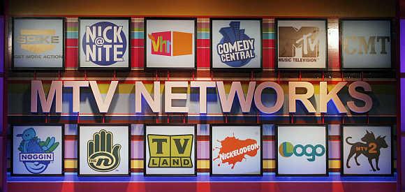 MTV saw a 12 per cent decline in value.