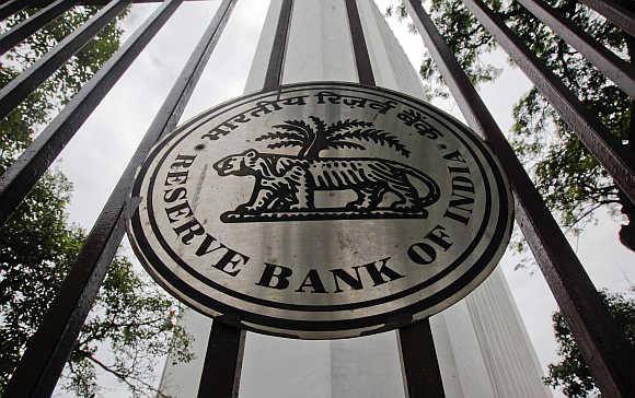 Reserve Bank of India building in Mumbai.
