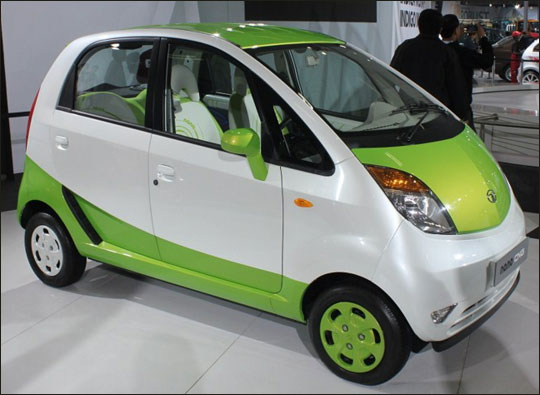 Tata Nano.