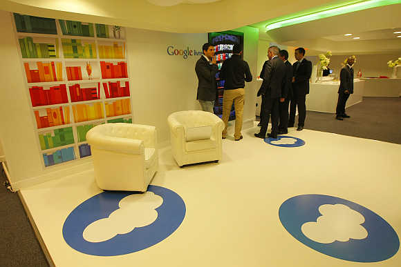 A view of Google France headquarters in Paris.