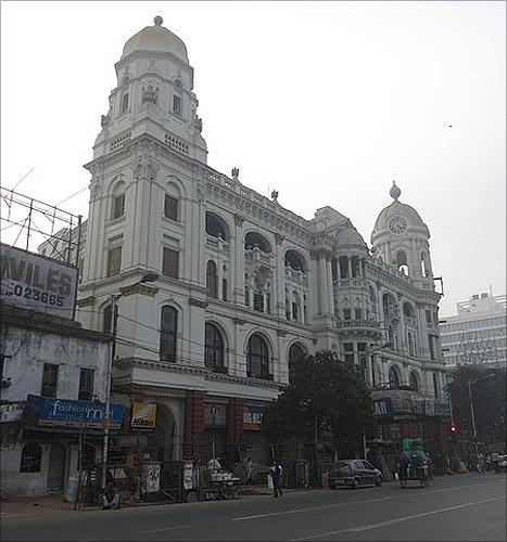 Metropolitan Building in Esplanade, Kolkata.