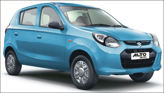 New Alto 800.