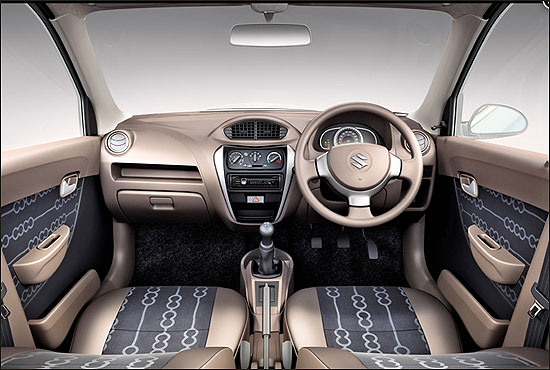 Interiors of the New Alto.