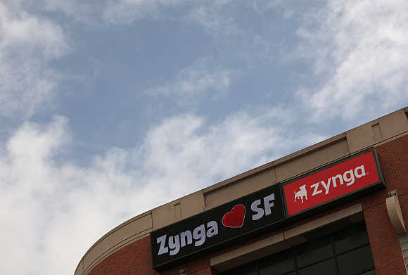 The corporate logo of Zynga Inc.