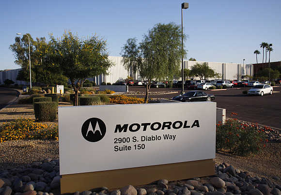Motorola's office in Tempe, Arizona.