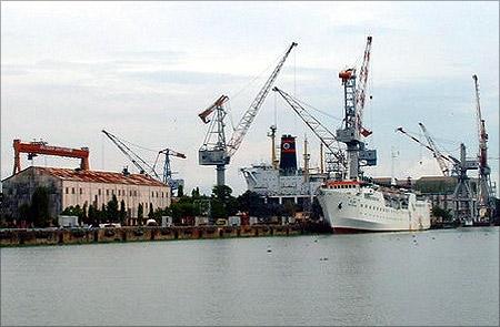 Cochin Shipyard.