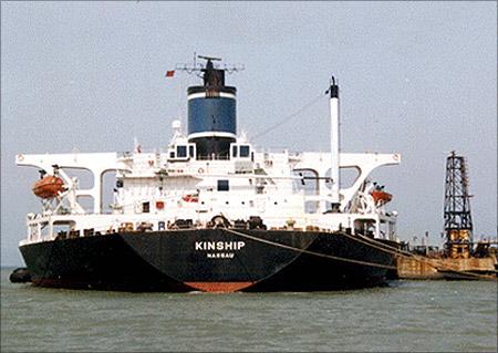 Vishakhapatnam port.