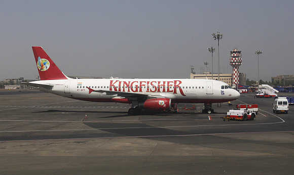 Investors on a buying spree of Kingfisher scrips