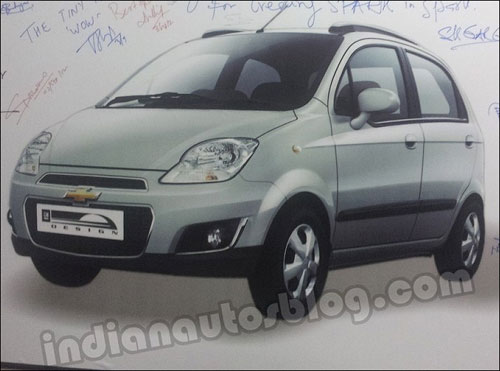 Chevrolet Spark facelift revealed