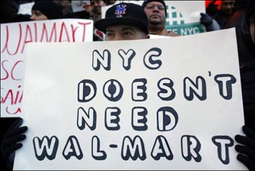 The Walmart protests that India ignored