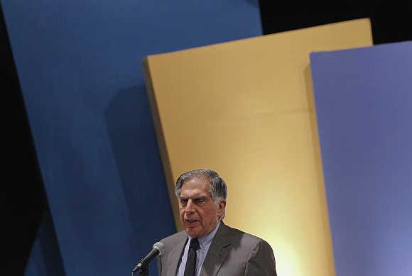 Ratan Tata, Chairman, Tata Sons.
