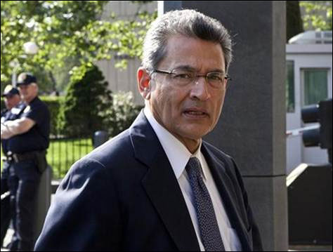 Rajat Gupta arrives for an earlier hearing in court