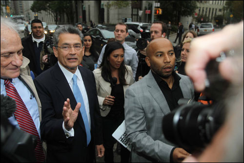 Wall Street's most high profile executive sent to jail