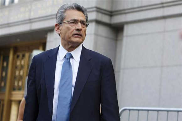 Rajat Gupta has been given a two-year sentence.