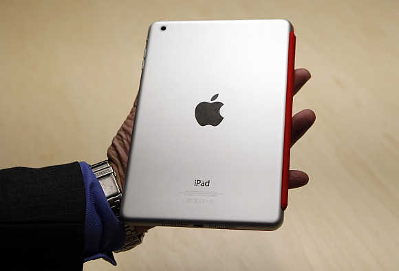 iPad Mini sports an enviable aluminium finish and build quality.