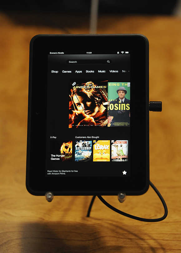 Kindle Fire HD boasts of 16GB or 32GB.