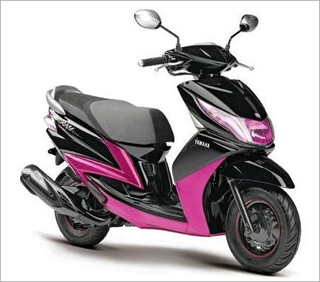 Yamaha's gearless scooter.