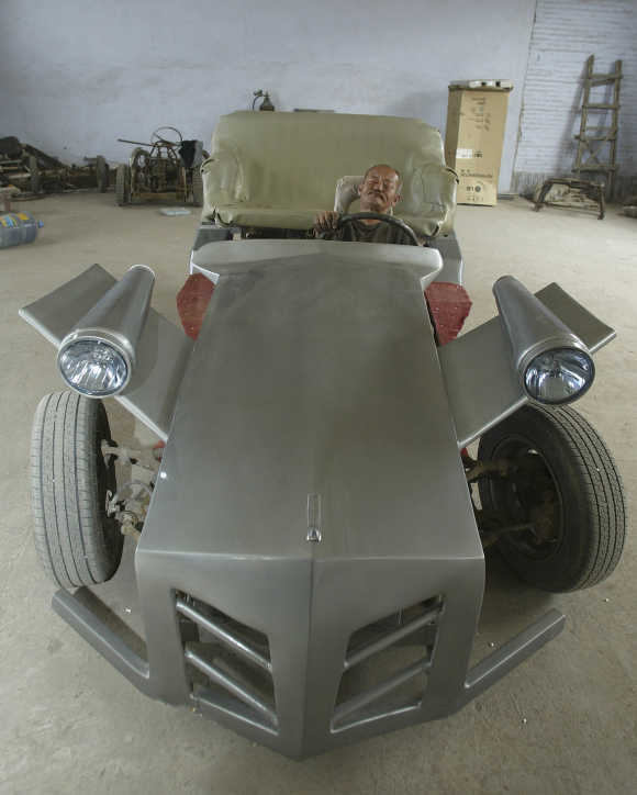 Stunning photos of homemade cars