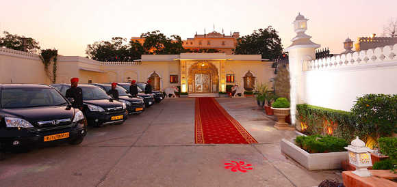 Amazing images of Raj Palace hotel in Jaipur