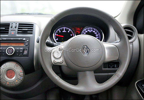 Scala steering wheel.