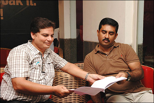 Ajeet Kumar and Rajesh Joseph.