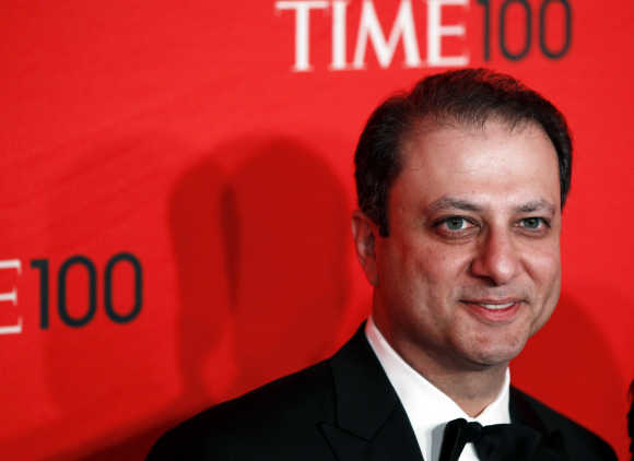 Preet Bharara in New York.