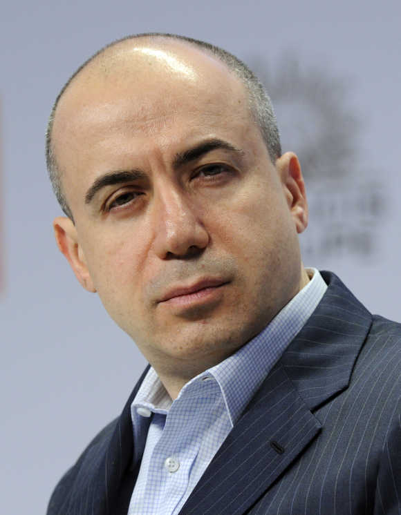 Digital Sky Technologies CEO Yuri Milner in Paris.
