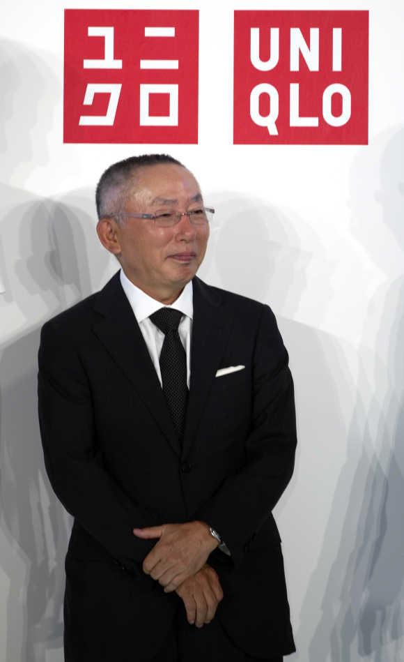 Tadashi Yanai in Paris.