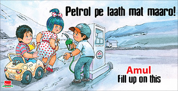 Amul Girl weeps for first time to pay homage to Kurien