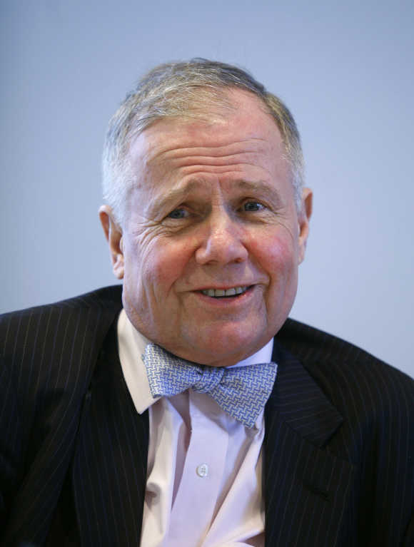 Jim Rogers, one of the most successful investors in the world.