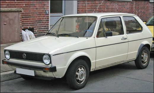 1974 Volkswagen Golf.