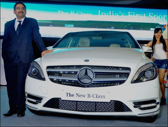 The stunning new B-Class Mercedes-Benz
