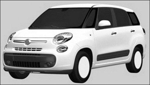 Fiat 500XL.