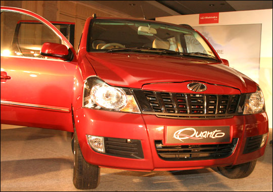 Mahindra launches the Quanto at Rs 582,000