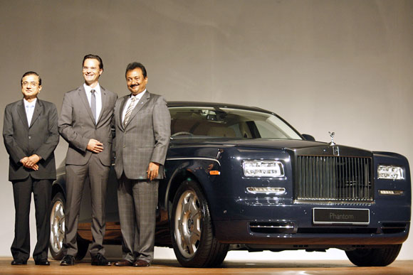 The stunning Rolls-Royce Phantom II debuts in India