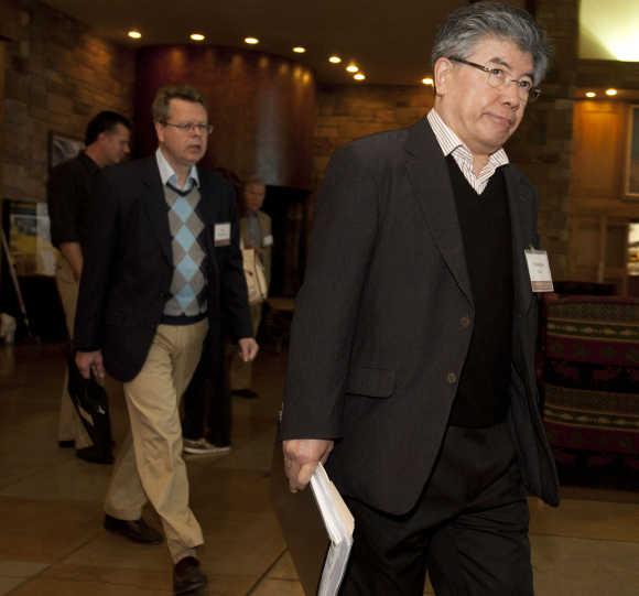Bank of South Korea Governor Kim Choong-soo.