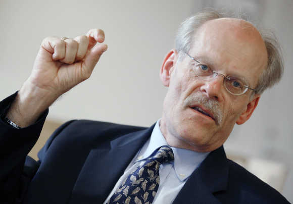 Stefan Ingves, the head of Sweden's Central Bank.