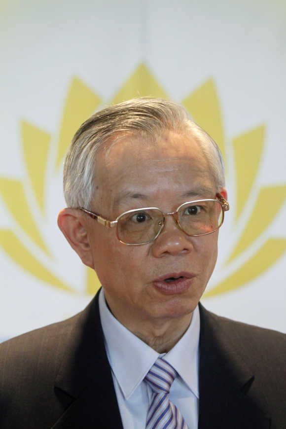 Taiwan's central bank governor Perng Fai-nan.