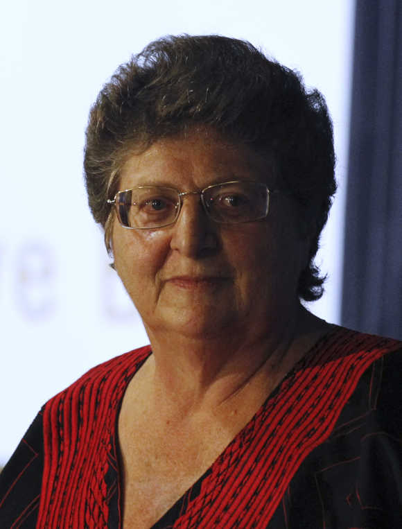 South African central bank Governor Gill Marcus.
