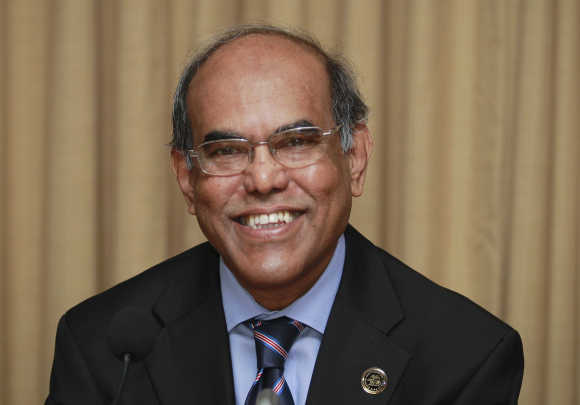 Reserve Bank of India's Governor Duvvuri Subbarao.