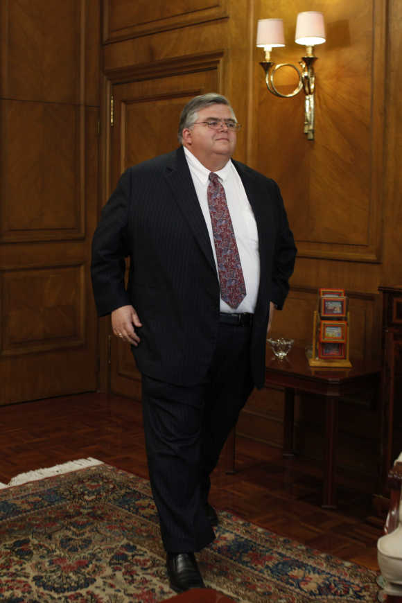 Bank of Mexico Governor Agustin Carstens.