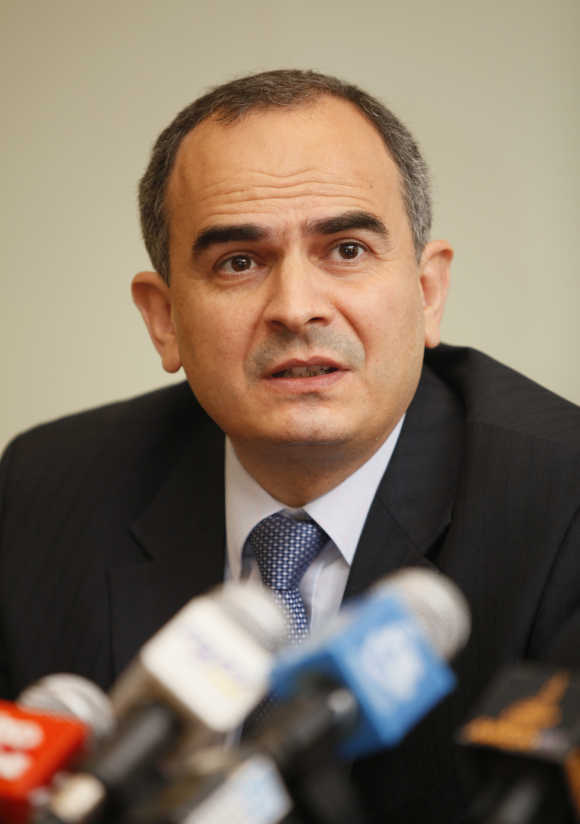 Turkey's central bank governor Erdem Basci.