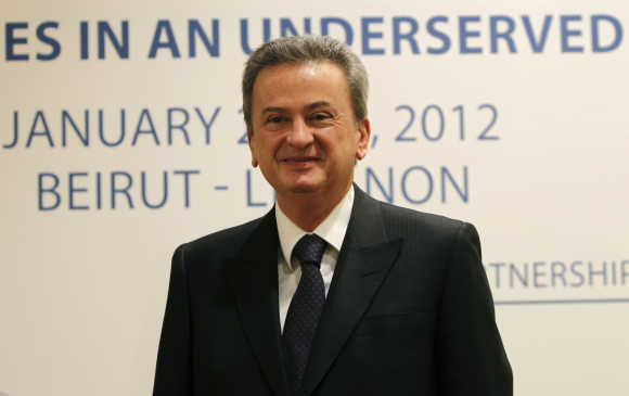 Lebanon's Central Bank Governor Riad Salameh.